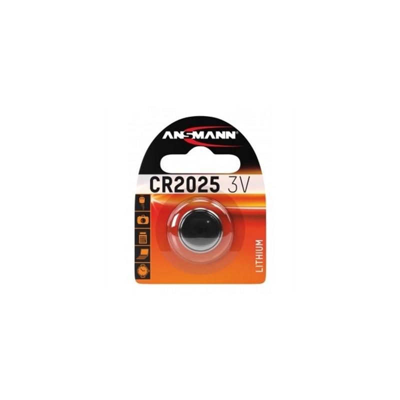 Ansmann, CR 2025, 3 V Lithium, 1 Blister-pack